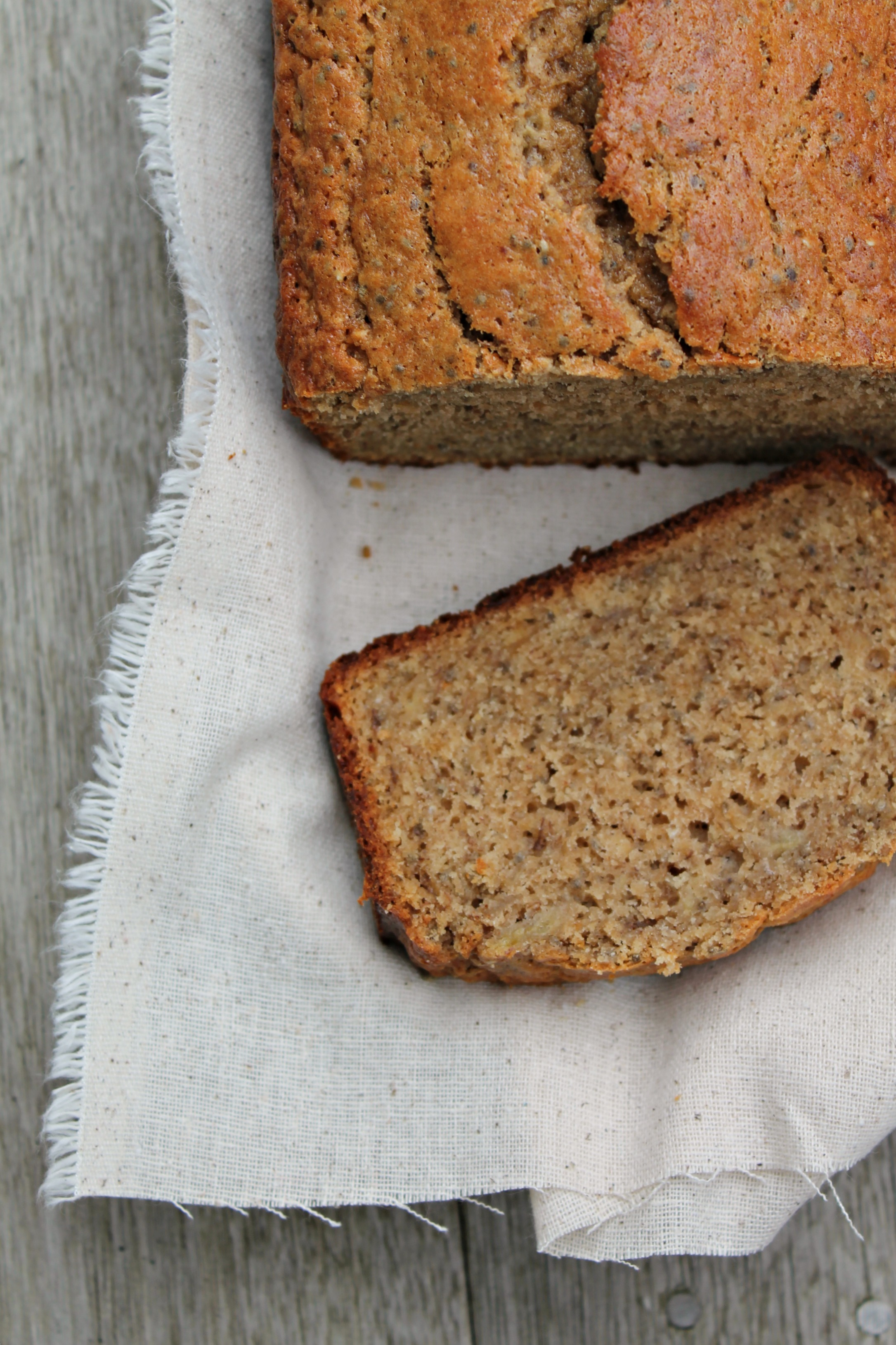 Chia seed banana bread cooking with books chia seed banana bread forumfinder Gallery