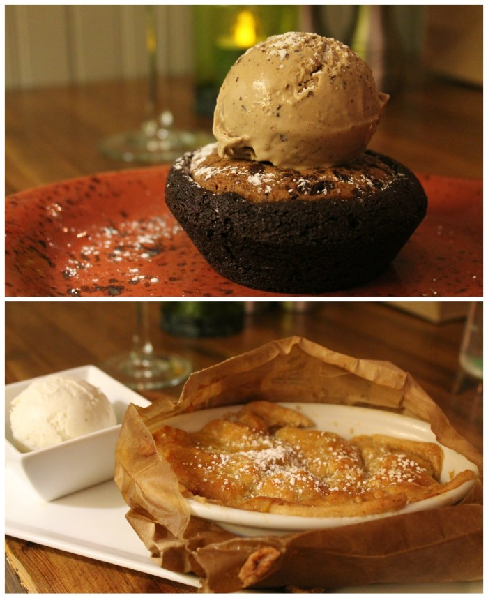 """Hidden gems in Las Vegas include a restaurant off of the Strip called """"Honey Salt"""" - The Brookie and the Brown Bag Pie were delicious desserts!"""