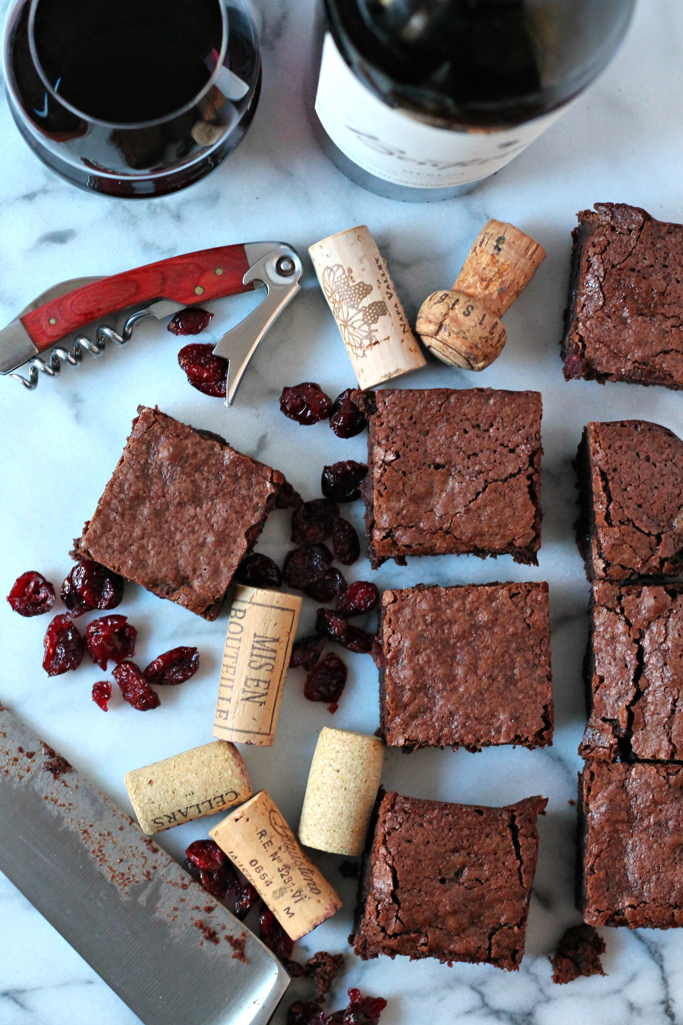 ... red wine brownies cooking with books chocolate red wine brownies