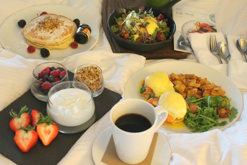 Westin Breakfast in Bed