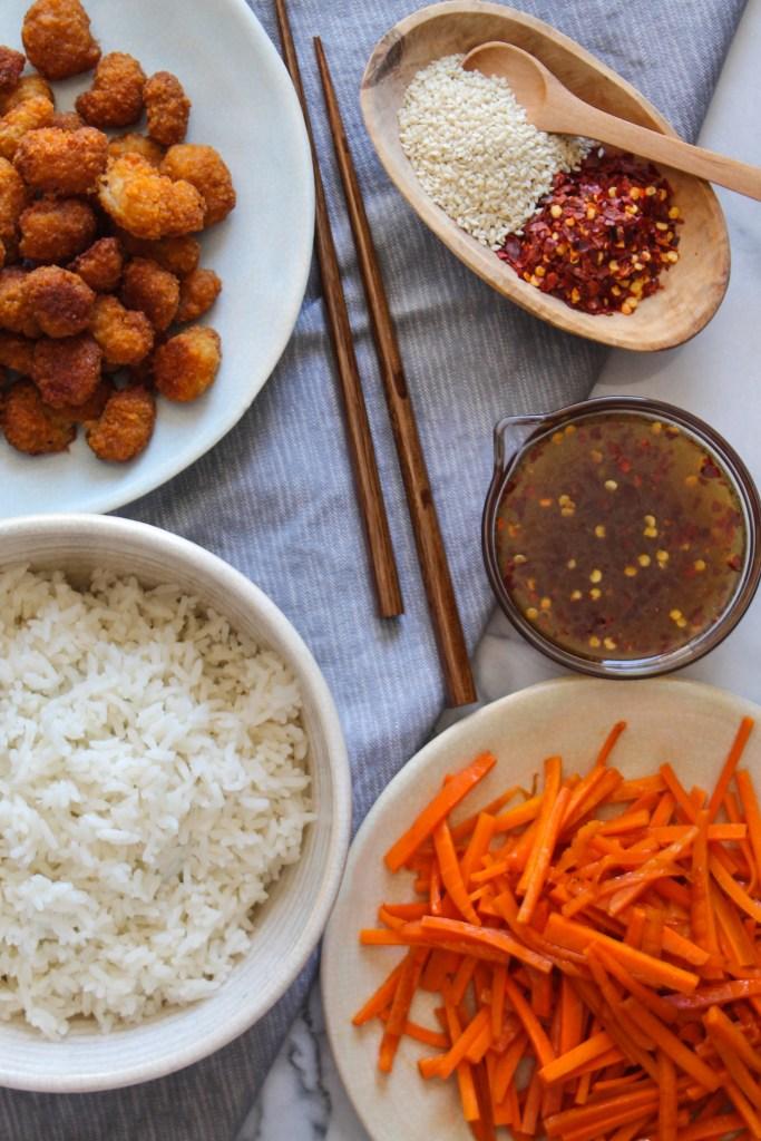 Firecracker Shrimp Rice Bowl recipe-4