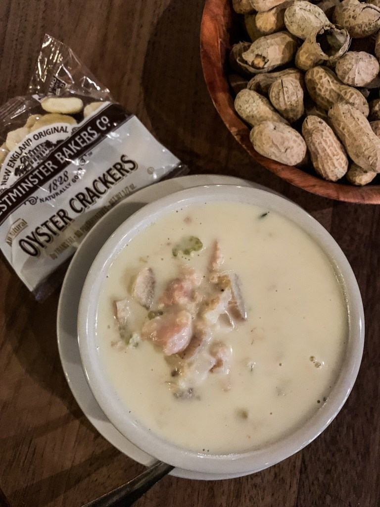 Clam Chowder from Offshore Ale-11