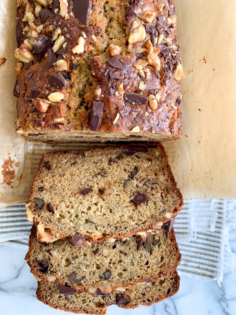 Walnut Chocolate Banana Bread-6