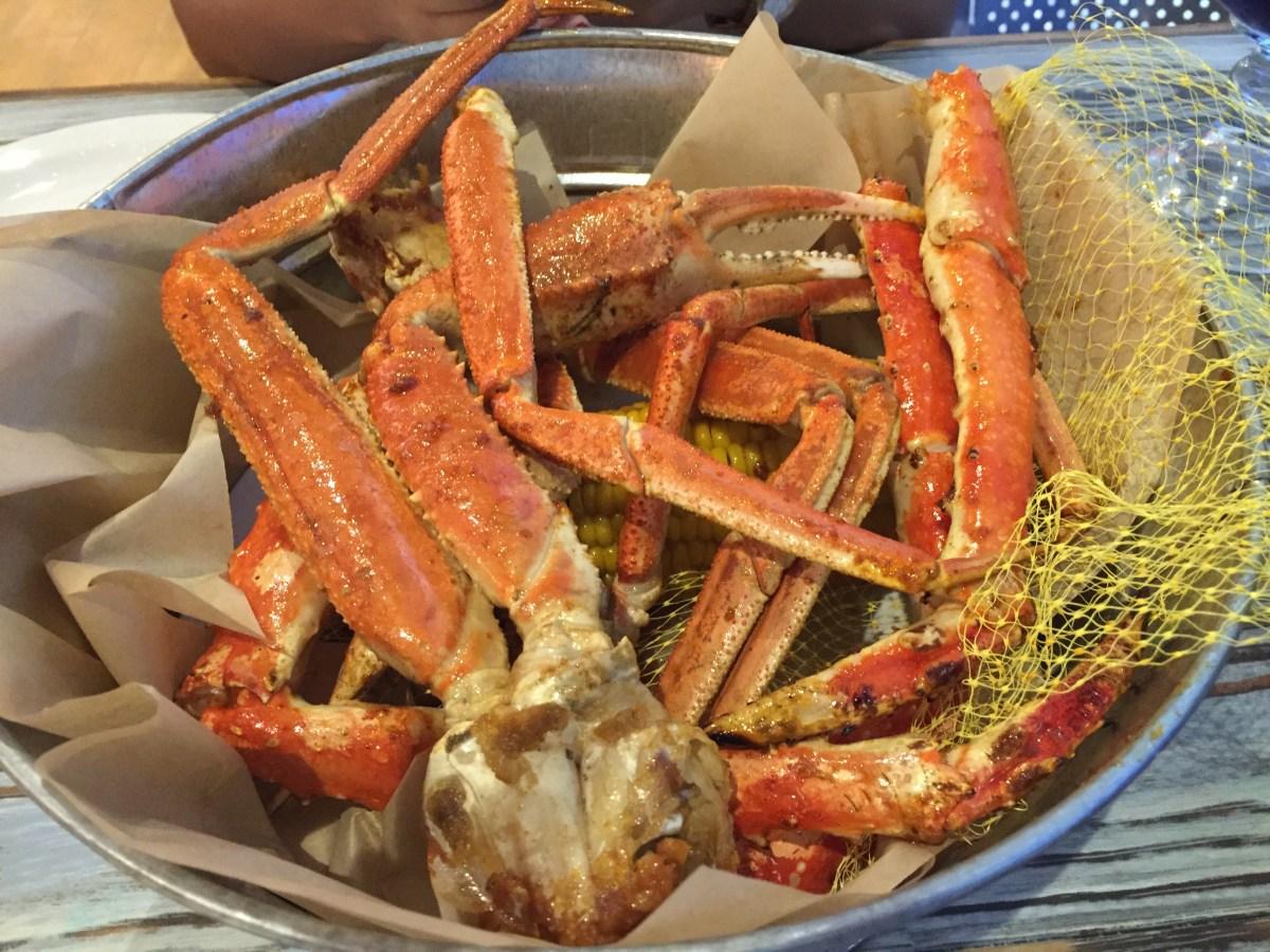Joe s crab shack review in dubai mall for Two fish crab shack
