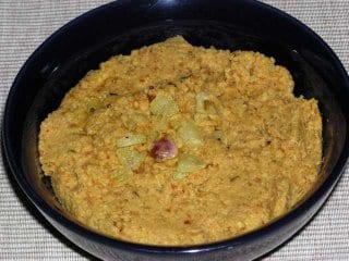 Kandhi Pachadi (Toor dal Chutney)