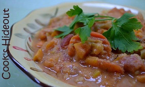 Vegan African Squash & Sweet Potato Stew