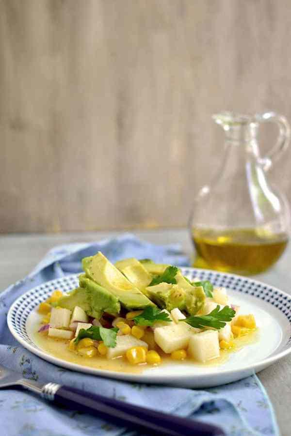 Jicama-Avocado Salad with Citrus Vinaigrette