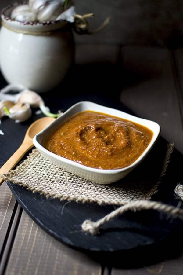 Rajasthani Garlic Chutney
