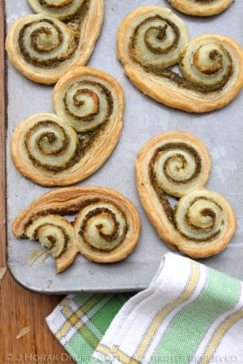 Post image for Perfect palmiers with pistounade from Provence