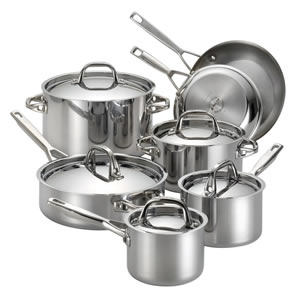 Anolon Tri-Ply Clad, 12-Piece