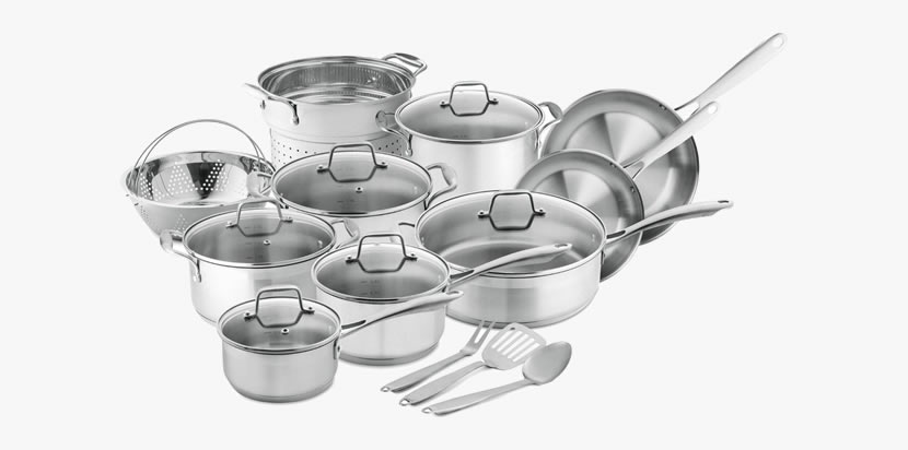 Chef's Star Professional, 17 Piece  Cookware Set Review