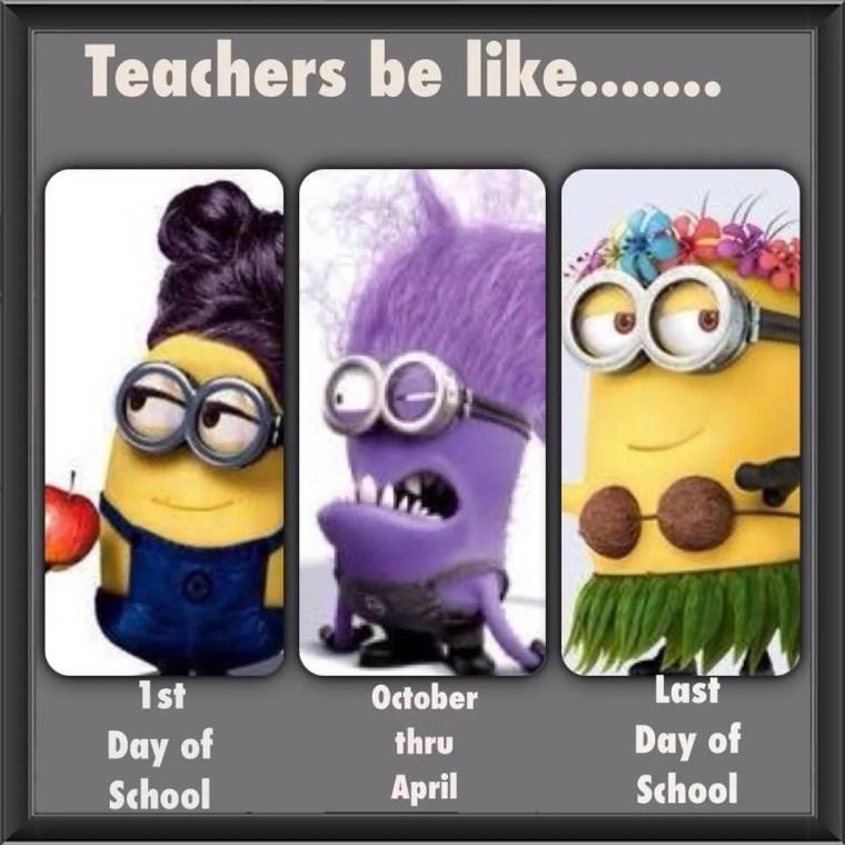 If Teachers Were Minions