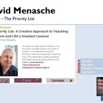 David Menasche and The Priority List