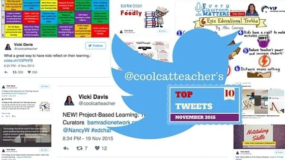 Top Education Tweets of November 2015