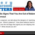 Teaching Pitfalls: Signs That You Are Out of Balance & Burning Out