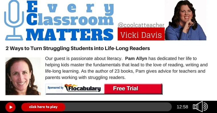 Pam Allyn how to help struggling readers love reading