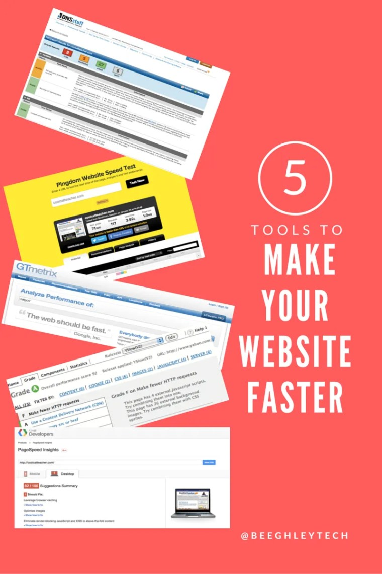 5 ways to make your website faster and better