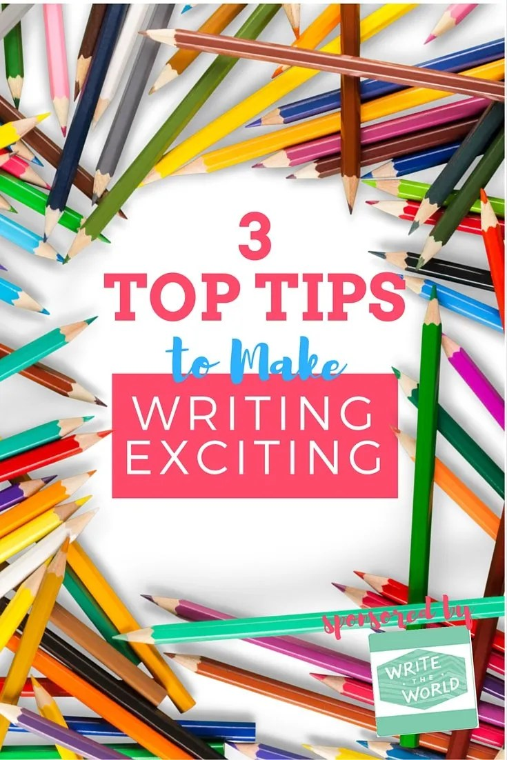 How to Make Writing Exciting when you teach writing
