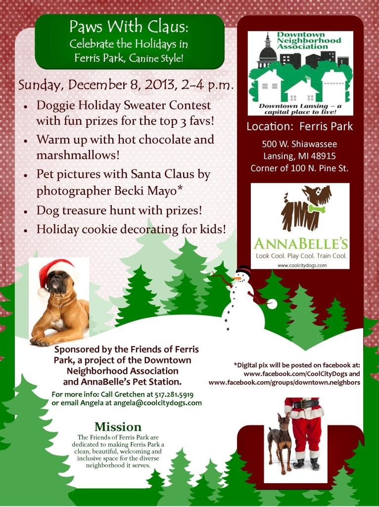 ferrs park holiday event canine style
