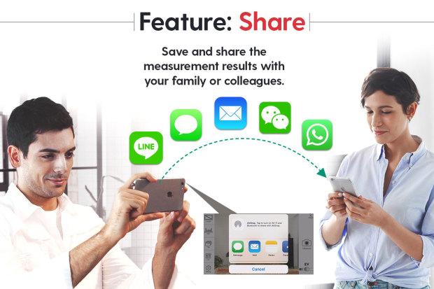 iPin Share Funktion