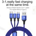 Baseus-3-in-1-USB-Kabel-Micro-Typ-C-Lightning