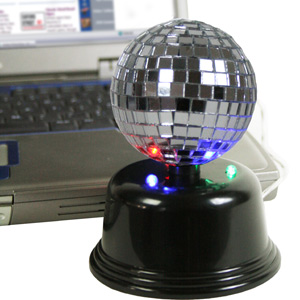 USB Mirror Ball