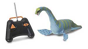 Remote controlled Loch Ness monster.