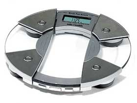 Body Fat monitoring scales.