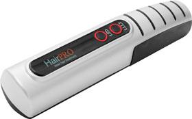 Laser hairbrush