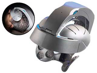 Motorised head massager