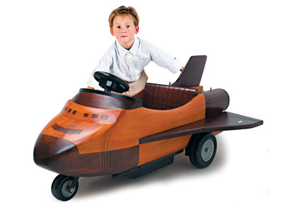 Wooden Shuttle Car