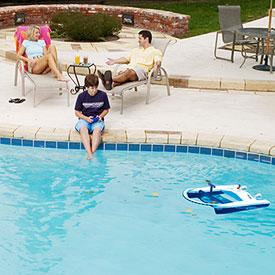 Jet Net Remote Control Pool Skimmer