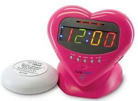 Sonic Boom Sweetheart Alarm Clock