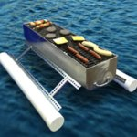 The Floating Flamer – Swim Over and Get Me a Cheeseburger!