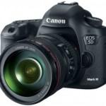 Canon EOS 5D Mark III DSLR announced