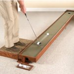 Handcrafted Adjustable Putting Green