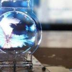 Soap bubble screen touted to be thinnest display in the world