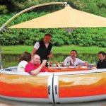 Dine On the Water – Literally
