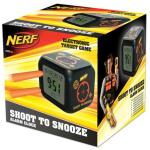 NERF Shoot to Snooze LCD Alarm Clock