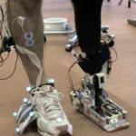 Robotic ankle makes a splash