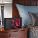 Giant Display Alarm Clock