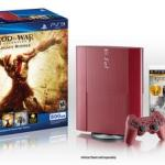 God of War: Ascension bundle comes with Garnet Red PS3