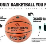 EVO One Basketball gives you instant feedback on your shots
