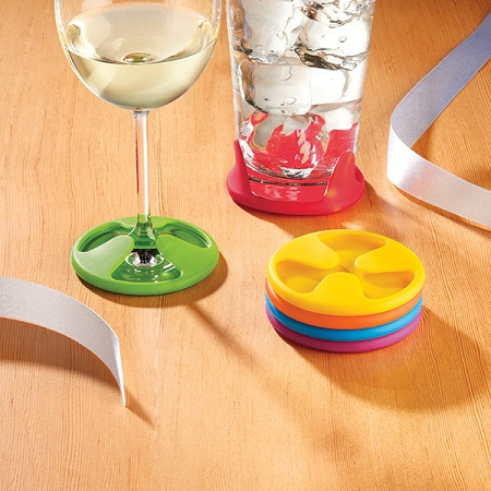 Grip Coasters – now no one will have an excuse not to use one