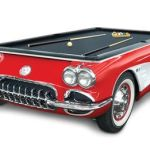 1959 Corvette Billiards Table rolls back the years as you pocket them balls