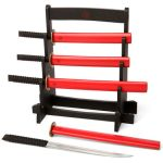 Samurai Sword Kitchen Knife Set lets you be a kitchen warrior