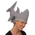 Grey Shark Hat