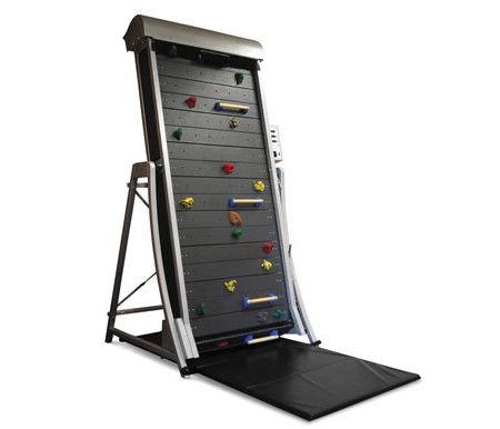 Climbing Wall Treadmill helps you burn some fat
