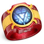 Marvel Iron Man 3 LED Arc Reactor Ring is ready made, needs no genius to build it