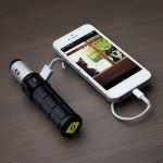 Brunton Torpedo 2800 Hybrid Mobile Battery & Charger ensures you have power at your fingertips